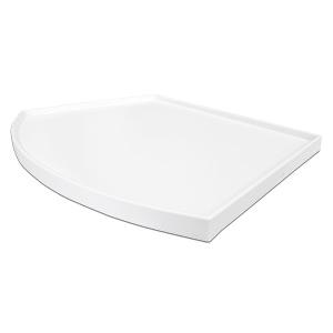 Weiße Deckplatte