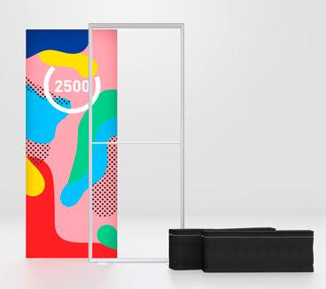 Pixlip Go Lightbox 100 x 250 cm